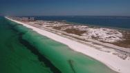 Florida Barrier Island Stock Footage