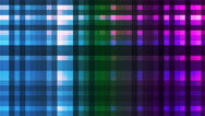 Broadcast Twinkling Hi-Tech Strips, Multi Color, Abstract, Loopable, 4K Stock Footage