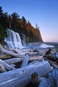 Canada, British Columbia, Vancouver Island, Pacific Rim National Park, West Stock Photos