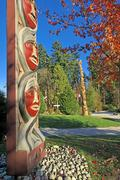 Gateway, Coast Salish Welcome Portal, carved by Susan Point, Brockton Point, Kuvituskuvat