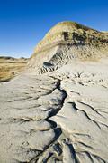 Killdeer Badlands, East Block, Grasslands National Park, Saskatchewan, Canada Stock Photos
