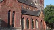 Riga Cathedral, Latvia Stock Footage