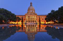 Alberta Legislature, Edmonton, Alberta, Canada Stock Photos