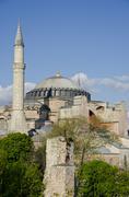 Hagia Sophia, also known as Aya Sofia, Istanbul, Turkey Kuvituskuvat