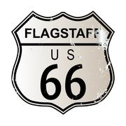 Flagstaff Route 66 Piirros