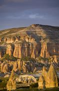 Landscape near Goreme, Cappadocia, also Capadocia, Central Anatolia, largely in Stock Photos