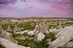 Goreme, Cappadocia, also Capadocia, Central Anatolia, largely in Nev_ehir Stock Photos