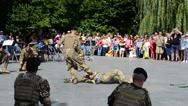 Marines of Ukraine, neutralization of the enemy. Stock Footage