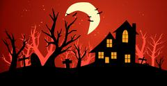 Halloween background vector illustration Stock Illustration