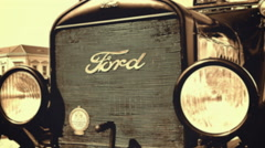 Ford Model T from 1921 Stock Footage