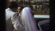 1974: the man forcely take him newly married wife away LYNBROOK, NEW YORK Stock Footage