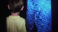1974: childrens are playing in a room LYNBROOK, NEW YORK Stock Footage