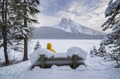 Emerald Lake, Yoho Naional Park, Field, British Columbia, Canada Stock Photos