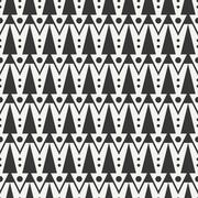 Geometric ethnic tribal seamless pattern. Wrapping paper. Scrapbook. Doodles Stock Illustration