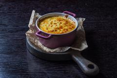 Casserole in a pan Stock Photos