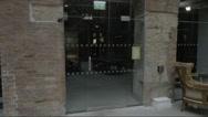 Man unlocking door Stock Footage