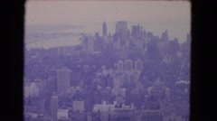 1964: new york view over exclusive footage flights moment magnifico  Stock Footage