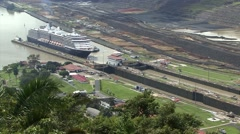 Panama Canal Pacific Side Stock Footage