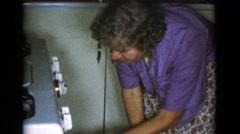 1968: baking bread is fun and fulfilling COTTONWOOD, ARIZONA Stock Footage