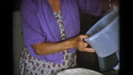 1968: a cooking scene is seen COTTONWOOD, ARIZONA Stock Footage