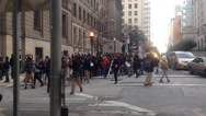 Baltimore Protests, Outside Courthouse Stock Footage