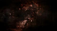 Rust color grunge horror loop Stock Footage