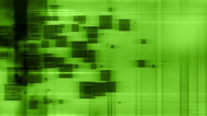 Green abstract Loop Fiction Stock Footage