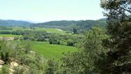 Scenic View Napa California Stock Footage
