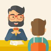 Job interview Piirros
