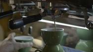 Espresso maker Stock Footage