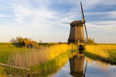 Windmill, Schermerhorn, North Holland, Netherlands Kuvituskuvat