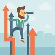 Successful businessman Stock Illustration