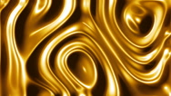 Gold abstract motion background seamless loop Stock Footage