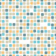Colorful mosaic seamless pattern.Tile Stock Illustration