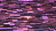 Broadcast Twinkling Diamond Hi-Tech Small Bars, Purple, Abstract, Loopable, 4K Stock Footage