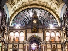 Antwerpen Central Station Stock Photos