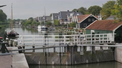 Historical locks,Edam,Netherlands Stock Footage
