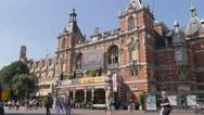 Theater on Leidseplein,Amsterdam,Netherlands Stock Footage