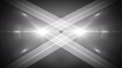 Light background with cross line colorless Stock Footage