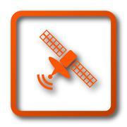 Antenna icon. Internet button on white background.. Stock Illustration