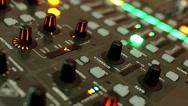 Audio, music, mixer Stock Footage