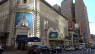'An Act of God' at Booth Theater on West 45th Street, Manhattan, New York. Stock Footage
