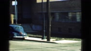 1939: classic car street parking LOS ANGELES, CALIFORNIA Stock Footage