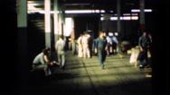 1939: walking at work LOS ANGELES, CALIFORNIA Stock Footage