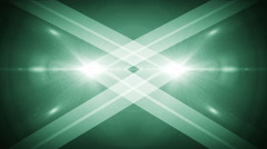 Light background with cross line green Stock Footage
