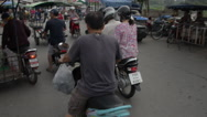 Thailand Chiang Mai Street Traffic Stock Footage