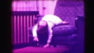 1942: watching baby crawling is fantastic LOS ANGELES, CALIFORNIA Stock Footage