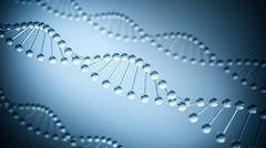 DNA Background- 3D illustration Stock Illustration