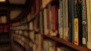 Books On Shelves , CENTRAL LIBRARY Liverpool Stock Footage