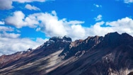 Time lapse high mountain landscape. Spiti Valley, Himachal Pradesh, India Stock Footage